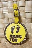 【ハンテン HANG TEN】 バゲッジ・タグ  日本製 ヴィンテージ ベアフット