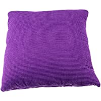 Dovewill デュアルユーズピロー 家庭 オフィス 車 マルチユース 全2サイズ4色 - 紫, L