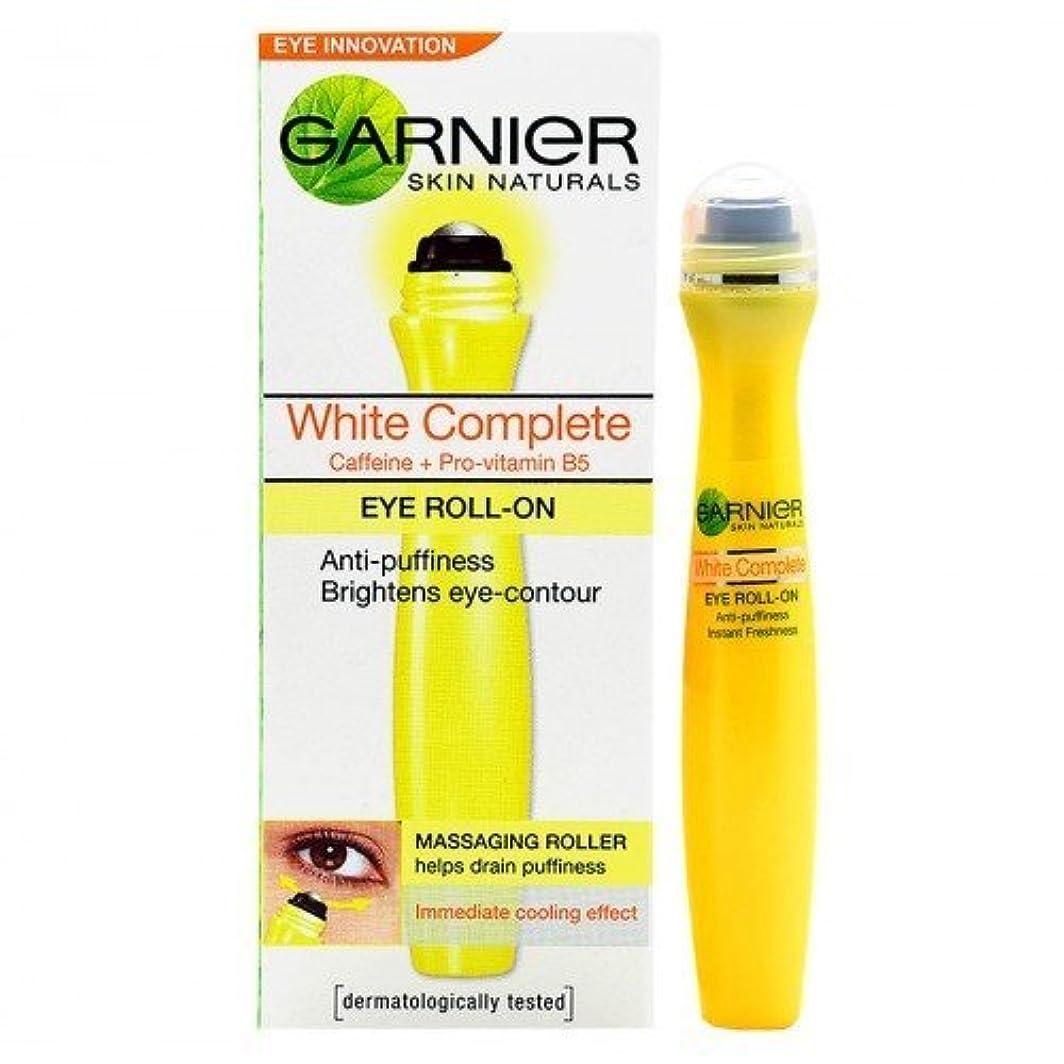 軍艦不適強大なGarnier Skin Naturals White Complete Eye Roll-On, 15ml