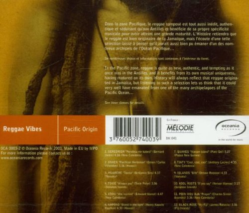 Reggae Vibes: Pacific Origin