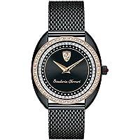 ブラック レディース アナログ ファッション クォーツ Ferrari 時計 DONNA ???? 0820011