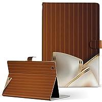 igcase dtab Compact d-02K docomo ドコモ タブレット 手帳型 タブレットケース タブレットカバー カバー レザー ケース 手帳タイプ フリップ ダイアリー 二つ折り 直接貼り付けタイプ 001531 ラグジュアリー リボン