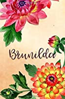 Brunilda: Personalized Journal for Her (Su Diario)