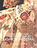 Seventeenth and Eighteenth-Century Fashion in Detail: The 17th and 18th Centuries 画像