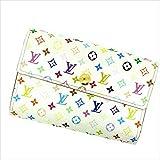 [ルイヴィトン] Louis Vuitton 三つ折り財布 アレクサンドラ M60083 マルチカラー 中古 Y281