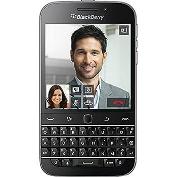 BlackBerry Classic 【amazon.co.jp出品/販売分のみ日本正規代理店品】 Black SIMフリースマートフォン ブラックベリー 16GB QWERTY キーボード caseplay FOX
