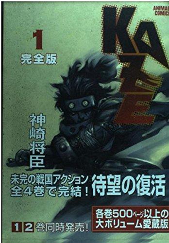 KAZE完全版 1 (アニメージュコミックス)の詳細を見る
