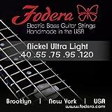 【 並行輸入品 】 Fodera (フォデラ) 40120S, 5弦, Compressed Round/Stainless Steel, Light
