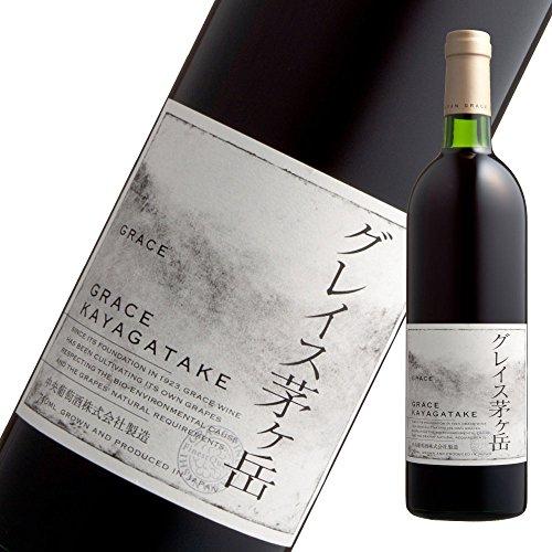 中央葡萄酒 グレイス 茅ヶ岳 赤 750ml