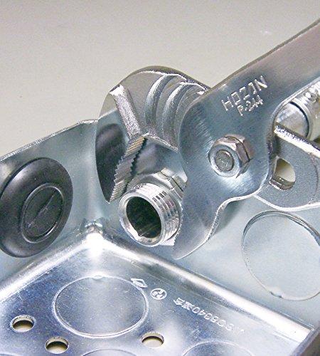 ホーザン(HOZAN) ウォーターポンププライヤー 小型で取り回しがしやすく電気工事士試験でも使いやすい 全長195mm P-244