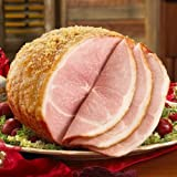 7.5 to 8.5 lb. Glazed City Ham by Burgers' Smokehouse [並行輸入品]
