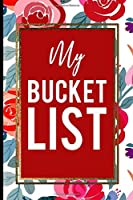 My Bucket List: Red Roses Pink Gold Frame Gift For Mother, Sister and Friends