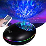 Galaxy Night Light Projector, Skylight Light Projector with Music Speaker Timer Baby Bedside Lamp, Remote Control Sleeping So