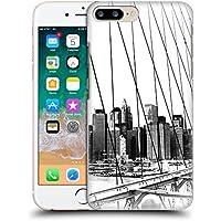 オフィシャル Haroulita New York 1 ブラック&ホワイト ハードバックケース Apple iPhone 7 Plus/iPhone 8 Plus