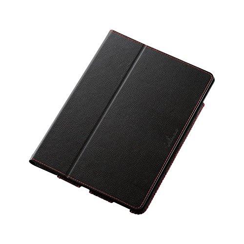 エレコム 9.7インチiPad Pro/ソフトレザーケース/2段階調節/黒 TB-A16PLF1BK 1個