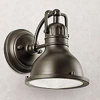 玄関 照明 LED 屋外 ポーチライト 門柱灯 門灯 外灯 防雨型 ウォールマウントライト ベーシック K-9064OZLD KICHLER キチラー ブラケット レトロ風 照明器具