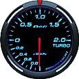 日本精機 Defi (デフィ) メーター【Racer Gauge】60φ ターボ計 (ブルー) DF-11504