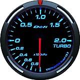 日本精機 Defi (デフィ) メーター【Racer Gauge】60φ ターボ計 (ブルー) DF11504