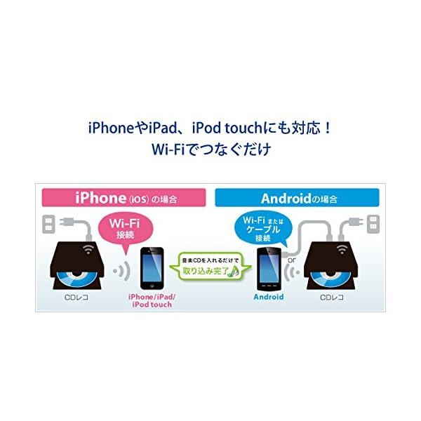 I-O DATA iPhone スマホ CD取...の紹介画像9