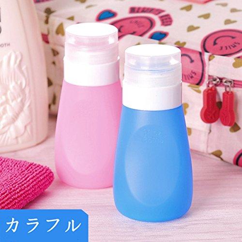 [해외]Viviya 여행 병 화장품 병 플라스틱 용기 소분 병 리필 여행 휴대용 출장 여행용 화장품 수납 여행 병 여행 상품 4 개 세트 수납 봉투 포함/Viviya Travel Bottle Cosmetic Bottle Plastic Container Subdivision Bottle Refill Travel Travel Porta...