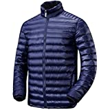 Lesmart(レスマート) ダウンジャケット メンズ コート ウルトラライトダウン 防寒 登山 防風 軽量 暖かい アウトドア ライトダウン 冬 春