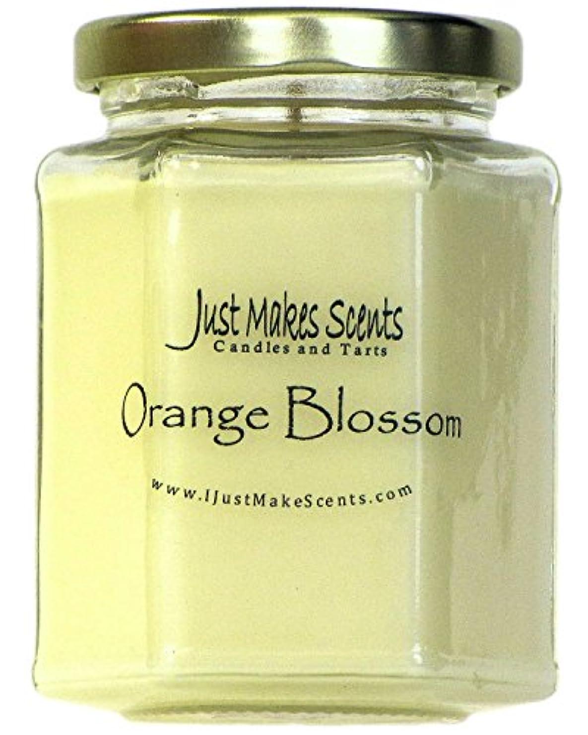 も日付付き正直(1 Candle) - Orange Blossom Scented Blended Soy Candle Strong Spring Floral Fragrance Hand Poured in the USA by...