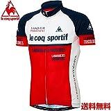 (ルコックスポルティフ)le coq sportif サイクリング エアリークールメッシュジャージ QC-740471 [メンズ] NVY L