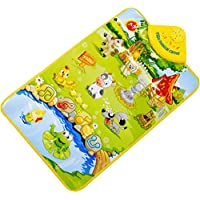 SMTSMT Children's Musical Music Touch Play Singing Gym Carpet Mat Toy Gift