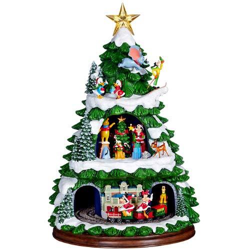 Disney Animated Tree with Music ディズニー クリスマス オブジェ オーナメント オルゴール