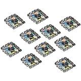 SM SunniMix ラインストーン ネイル用ストーン 10個セット 光沢 ダイヤモンド クリスタルチップ 装飾 全5種類 - #1