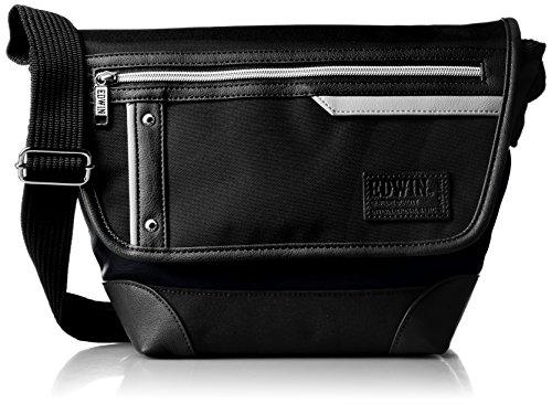 EDWINの黒のショルダーバッグ ミニサイズ