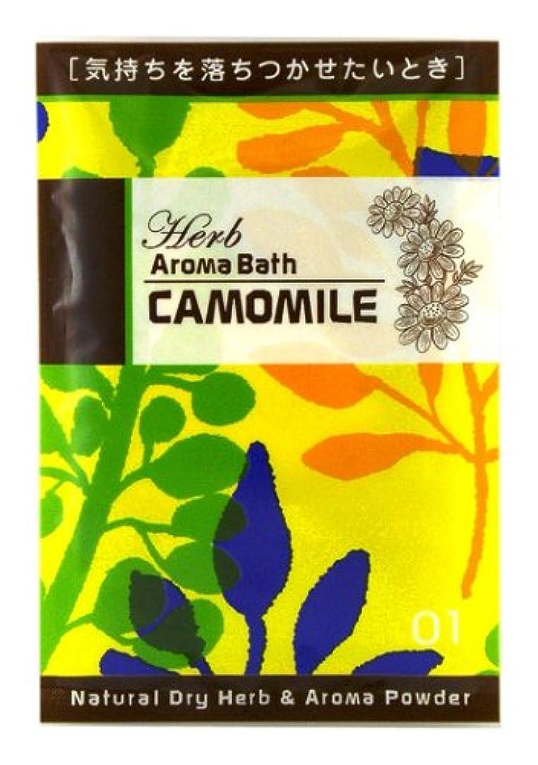 染色未知の身元ハーブアロマバス カモミール 12g