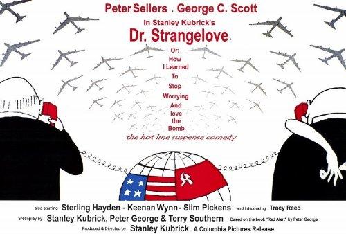 博士の異常な愛情 ポスター イタリア 27x40 ピーター・セラーズ ジョージ・C・スコット スターリング・ヘイデン Unframed 339871