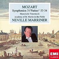 モーツァルト:交響曲第31番「パリ」&第33番&第34番/他