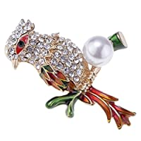 Sharplace 1個 エレガント 個性的 ブローチ スカーフピン アニマル型 服 帽子 飾り 全8種類 - #8