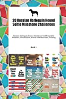 20 Russian Harlequin Hound Selfie Milestone Challenges: Russian Harlequin Hound Milestones for Memorable Moments, Socialization, Indoor & Outdoor Fun, Training Book 1