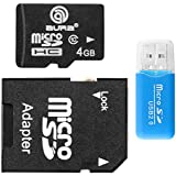 microSDHCカード 4 GB アダプター カードケース付き