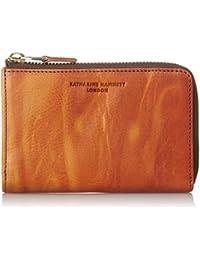 [キャサリンハムネットロンドン] 財布 高級イタリアベジタブルタンニンレザー FLUID フルイド Lファスナー ミドルサイズ ボックス 490-59202