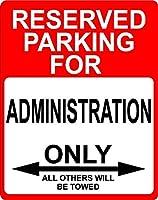 """管理飾り予約駐車場のみOthers Towed Sign 9"""" x12""""プラスチック。"""