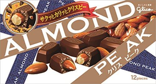 江崎グリコ アーモンドピーク<クリスピーク> 12粒×10個