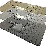 車 用 多機能 サンバイザー 収納 サングラス ペン ホルダー カード 小銭 駐車券 領収証 CD ポケット 3色から選べます (グレー)