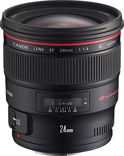 Canon 単焦点広角レンズ EF24mm F1.4L II USM フルサイズ対応