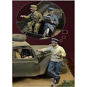 ディーデイミニチュアズ 1/35 第二次世界大戦 イギリス バトルオブブリテン 1940年 1 「戦争中の火遊び」 3体セット レジンキット DD35142