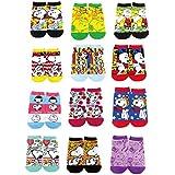 スヌーピー 靴下 ソックス 12種類柄12足1セット サイズ22~24cm SNOOPY
