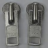 YKK 金属NO,10  スライダー 2個セット DA ニッケル