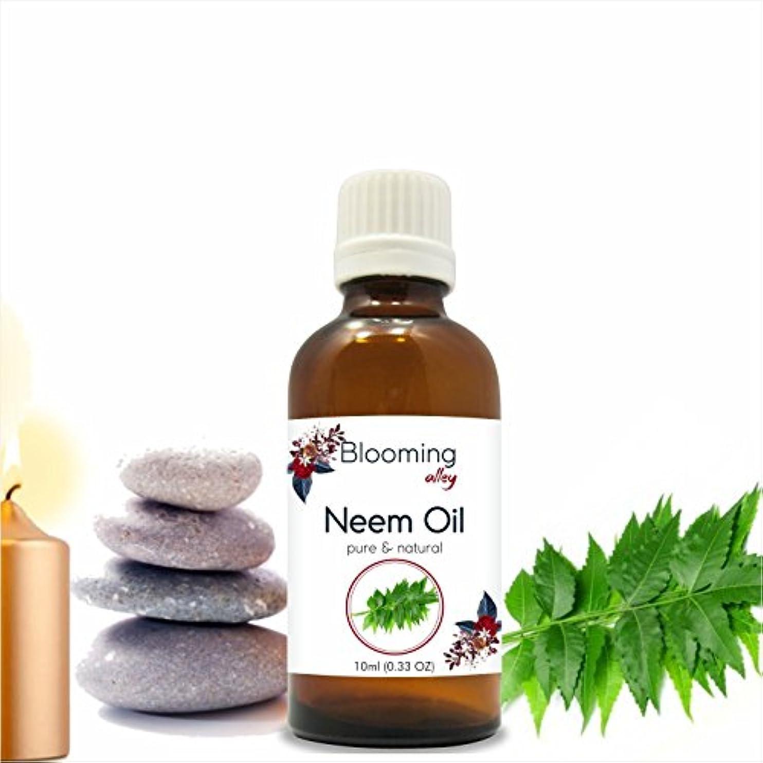暖かく叱る意見Neem Oil (Azadirachta Indica) Essential Oil 10 ml or 0.33 Fl Oz by Blooming Alley