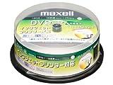 日立マクセル 録画用DVD-R 標準120分 1-16倍速 CPRM対応 プリンタブルホワイト 20枚スピンドル DRD120CPW20SP