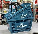 マーキュリー(MERCURY) マーケットバスケット ブルー 2個セット_MC-MEMABABL2P-MCR