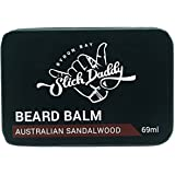 Beard Balm Sandalwood Scent with Jojoba Oil, Beeswax, Cocoa Butter & Vitamin E - Premium Quality, All Natural, Best Leave in