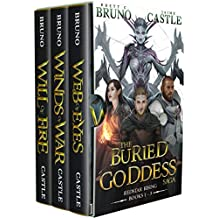 The Redstar Rising Trilogy: (Buried Goddess Saga Box Set: Books 1-3)